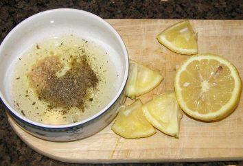 Preparare la marinata per il barbecue di maiale con limone