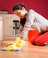 Podczas mycia podłogi we śnie, który przygotował los?