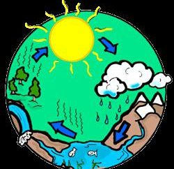O ciclo da água na natureza
