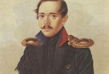 """Analisi Lermontov poesia """"Quando il campo d'onda ingiallimento."""" Il monologo interiore del poeta"""