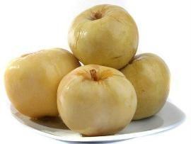 pommes marinées à la moutarde: une recette