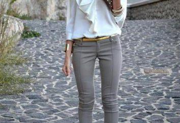 szare dżinsy: w co się ubrać i ciekawych rozwiązań