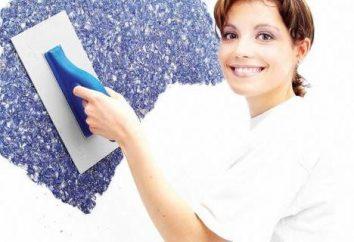 Comment coller papier peint liquide: Préparation des murs et de la technologie d'application