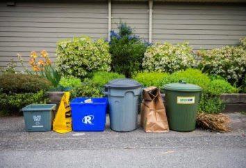 Limites de l'élimination des déchets. Recyclage des ordures