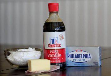 Kremowe babeczki, która posiada swój kształt: z serem, czekolada, śmietana