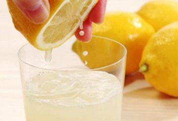 Daños y beneficios de agua con limón y miel para bajar de peso (revisión)