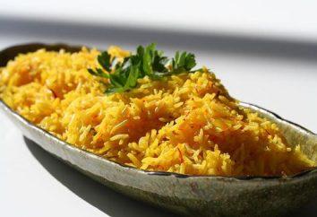 pilaf sans viande. Recette pour un riz pilaf végétarien