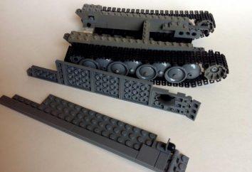 Wie ein Tank von LEGO zu machen, die am häufigsten verwendeten Teile mit