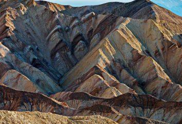 Co jest zagięte góry: przykłady. Klasyfikacja góry