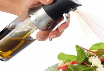 huile de pulvérisation: Caractéristiques de l'appareil