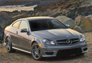 Mercedes C63 AMG – pour ceux qui aiment la vitesse et pièces de rechange pas d'argent sur les pneus et l'essence