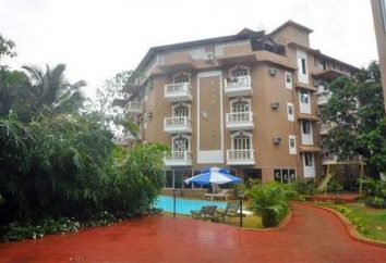 Hôtel Ginger Tree Beach Resort 3 * (Goa, Inde): avis, les descriptions et les photos de l'hôtel