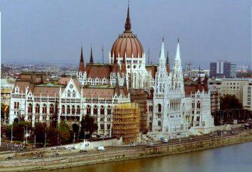 L'edificio del Parlamento ungherese – la principale attrazione di Budapest