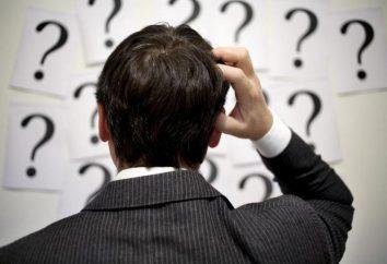 O que fazer quando você não sabe o que fazer? conselho interessante e métodos eficazes