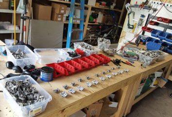 L'idée d'un mini-production. Mini-shop pour les petites entreprises. La production dans le garage