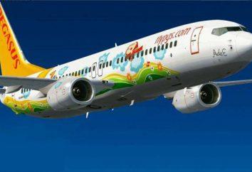 "A companhia aérea ""Fly Pegasus"": comentários, frota. LLC ""Airline"" Icarus """" (Pegas Fly)"