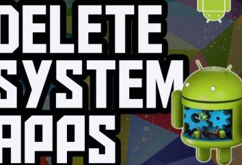 """Jak usunąć aplikacje systemowe w """"Android"""" przez komputer, bez route-praw?"""