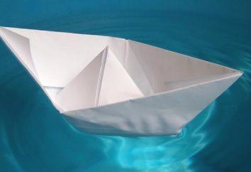 ¿Cómo hacer un barco de papel para juegos