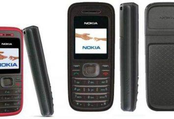 Przegląd Nokia 1208 telefon komórkowy