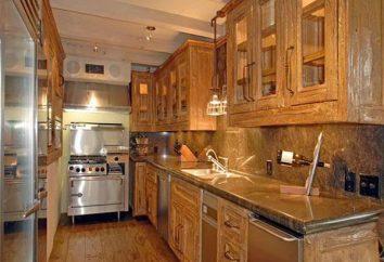 Die Fassaden für die Küche mit den Händen. Die Fassaden des Arrays in die Küche. Standardgrößen Küche Fassaden