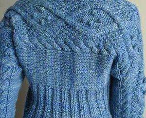 Stricknadeln Pullover Frauen