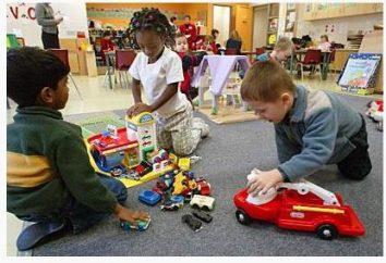 Kreatives Spiel für Kinder im Vorschulalter