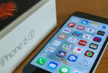 Apple iPhone 6s: opinie, opisy, specyfikacje