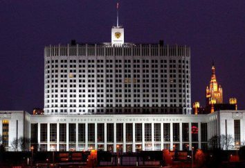 Estrutura e membros do governo russo