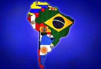 Sur Estados Americanos: la historia, la economía, el desarrollo