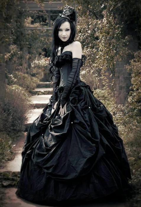 Vestiti Da Sposa Gotici.Vestito Gotico Foto E Dettagli