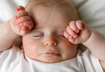 Combien les enfants dorment dans 3 mois? Alimentation quotidienne, la nutrition, le développement