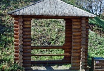 meble ogrodowe z bali: budowa