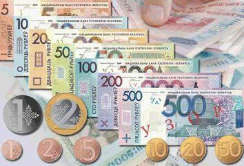 Monete della Bielorussia – per la prima volta nel trattamento nella storia dell'esistenza moneta bielorussa
