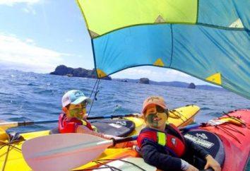 Escolher onde para relaxar no mar com crianças