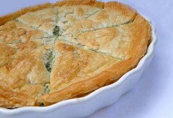 Torta com alabote: a receita. Como cozinhar um bolo de camada com alabote?