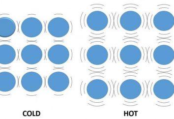 dilatazione termica dei solidi e liquidi