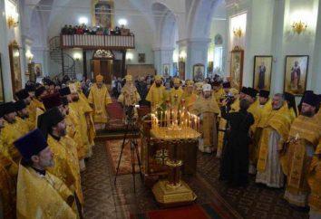 archidiecezja Simbirskaya. Jego cele, struktura i działalność