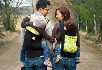 Rucksäcke zum Tragen Kinder: Bewertungen der Eigentümer, Merkmale und Typen