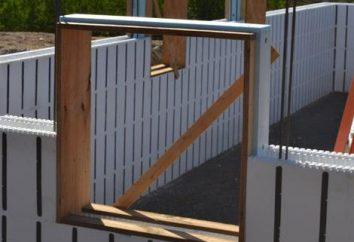 Extensión de la casa de bloques de espuma: erigir correctamente