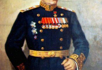 Nikolay Gerasimovich Kuznetsov – amiral de la flotte. porte-avions russe « Admiral Kuznetsov »