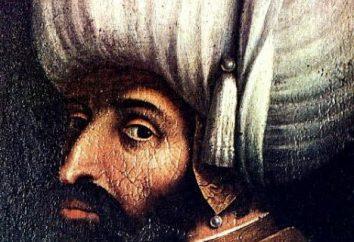 Sultanes del Imperio Otomano durante el gran estado tardío. Papel en la historia