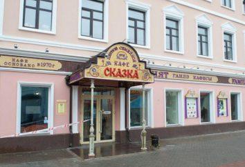 "Cafe ""Fiaba"", Kazan recensioni, disegno, menu,"