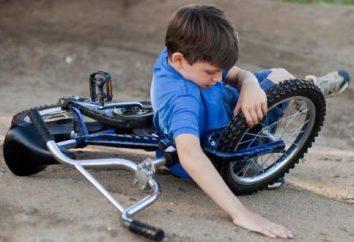I sintomi di commozione cerebrale nei bambini, la diagnosi e il trattamento di lesioni cerebrali traumatiche