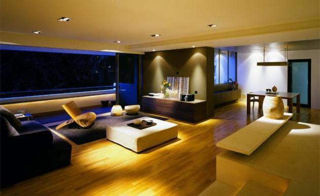Beleuchtung Wohnungen: Arten von LED-Beleuchtung