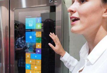 """""""A geladeira inteligente"""" com a tecnologia Smart LG. recipiente Tupperware """"geladeira inteligente"""""""