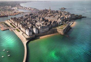 Marząc o ośrodku, nie jest jak inni? Znajdziesz miasto korsarzy Saint-Malo (Francja)