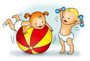 Um die Kinder gesund aufwachsen: Morgengymnastik-Komplexe in der zweiten jüngeren Gruppe