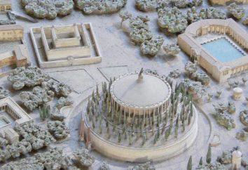 Monumentalne mauzoleum sierpnia od wielkości do ruin
