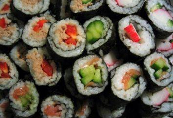 Ile kalorii jest w sushi? Zostaniesz poproszony przez doświadczonych dietetyków