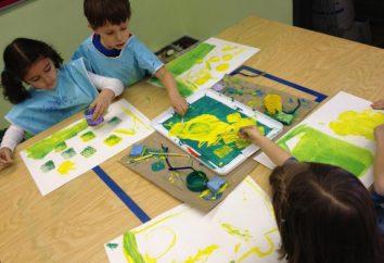 Niekonwencjonalne rysunek w grupie przygotowawczej przedszkola